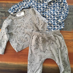 go gently nation set and lucky brand peace/doves
